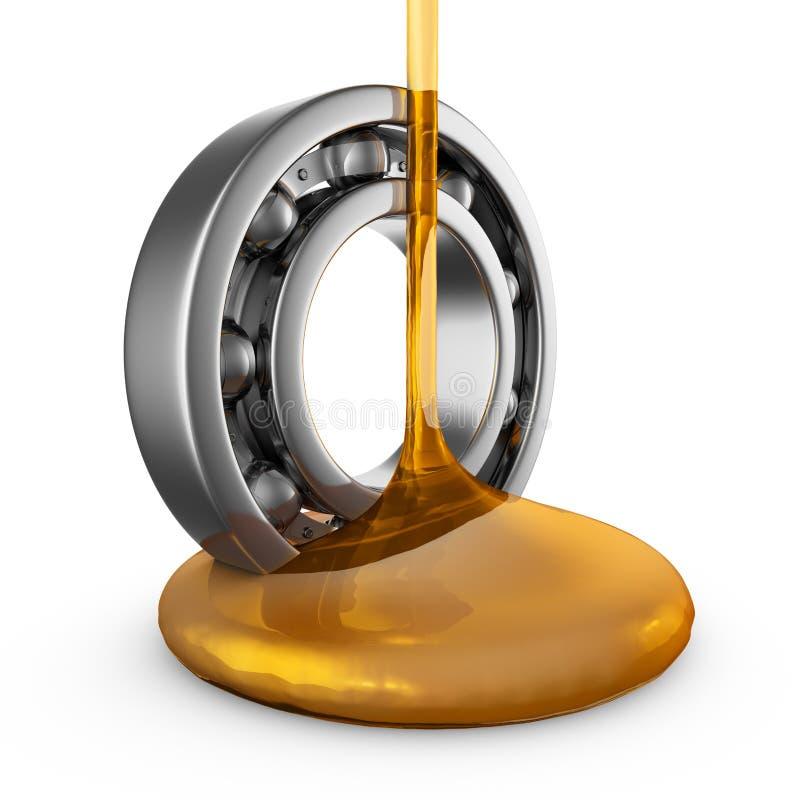 Öl auf Lager vektor abbildung