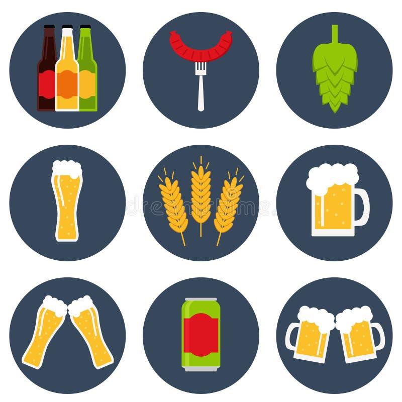 Öl Denna är mappen av formatet EPS10 stock illustrationer
