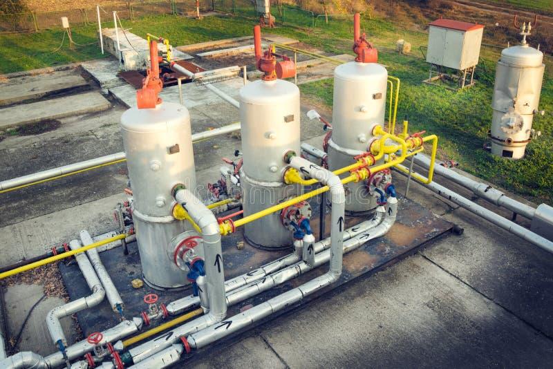 Öl- und Gasindustrie lizenzfreie stockbilder