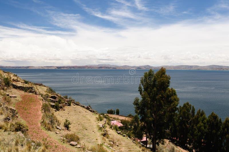 ölakeperu taquile titicaca fotografering för bildbyråer