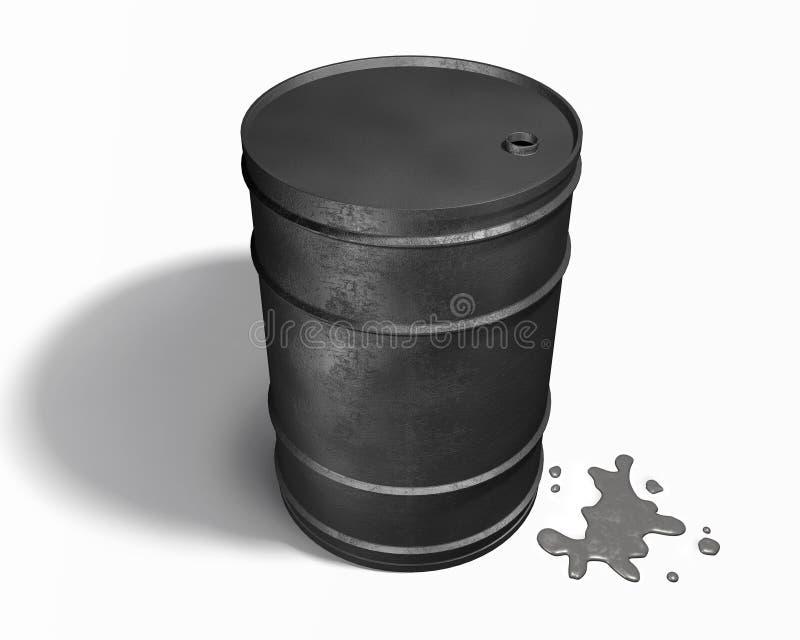 Ölbarrel stockfotografie