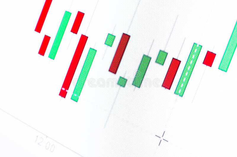 Öldiagramme lizenzfreie stockfotografie