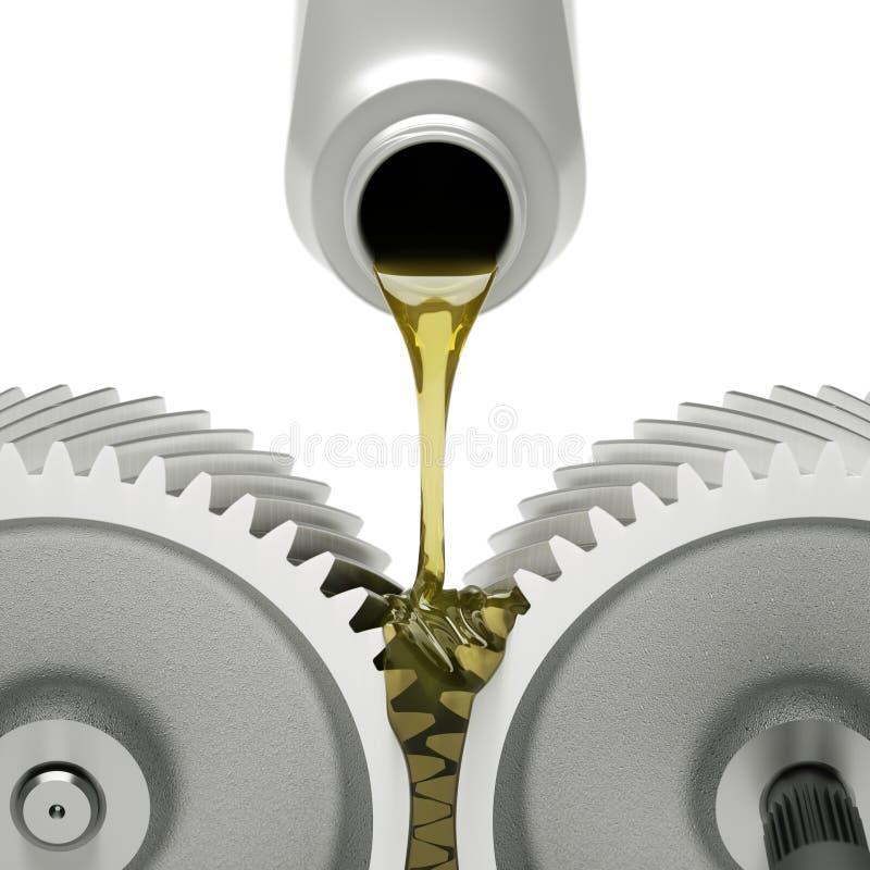Ölengänge vektor abbildung