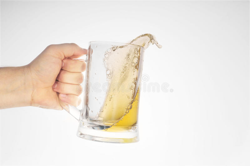 ölexponeringsglas royaltyfri fotografi