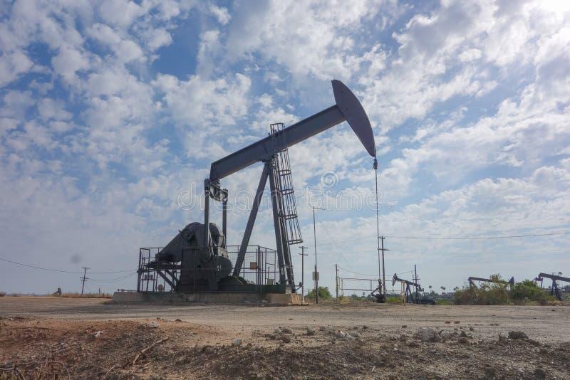 Ölfeld in Inglewood stockbild