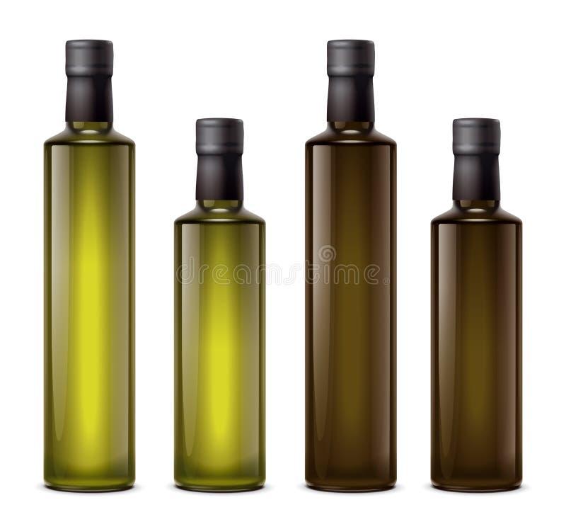 Ölflaschen lizenzfreie abbildung