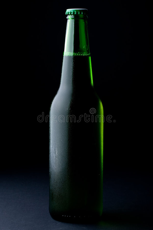 ölflaskan misted över arkivfoton