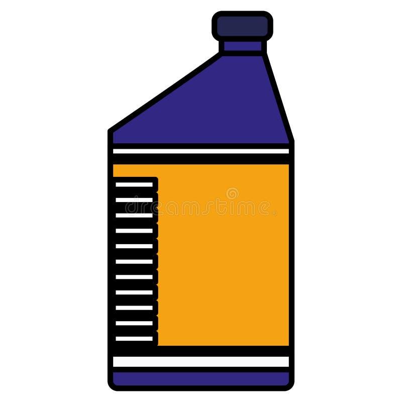 Ölgallonen-Maschinenikone lizenzfreie abbildung