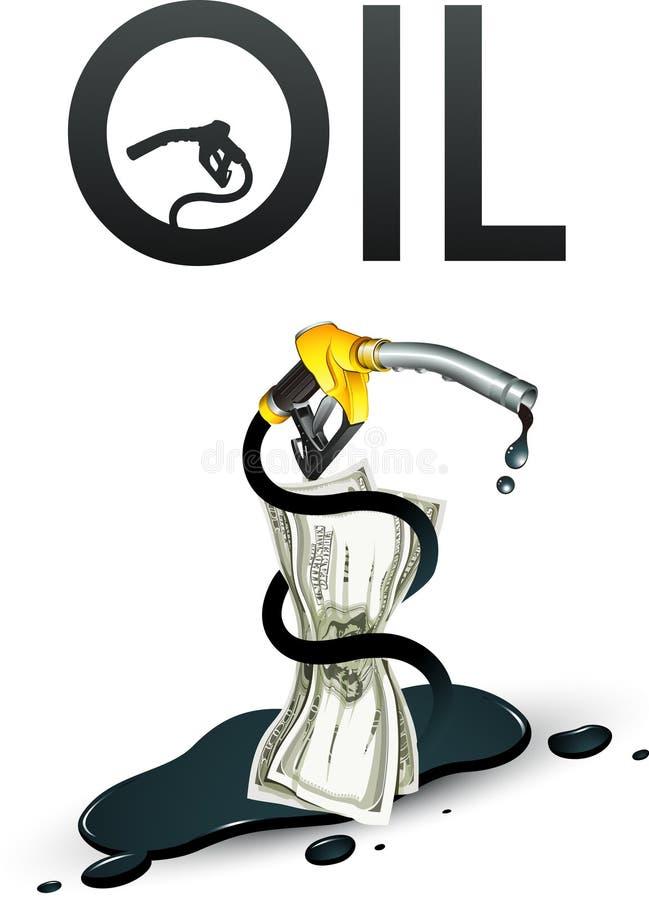 Ölkrise vektor abbildung