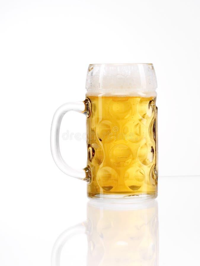 Ölkrus för ölexponeringsglas fotografering för bildbyråer