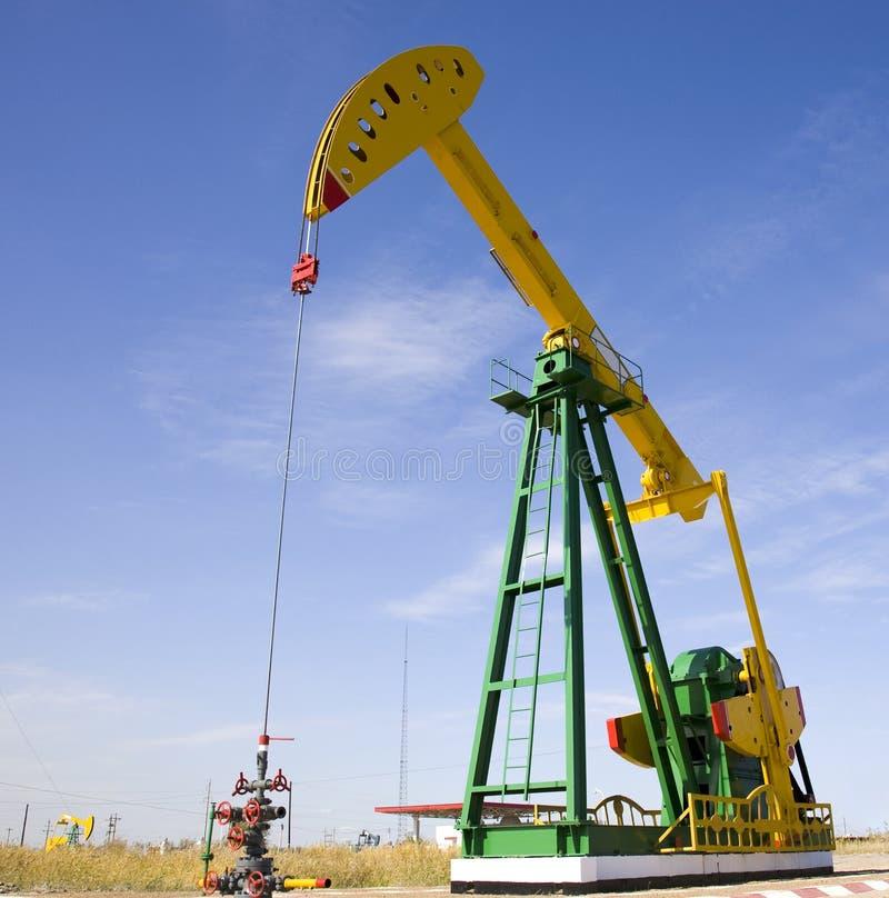 Ölplattform lizenzfreies stockbild