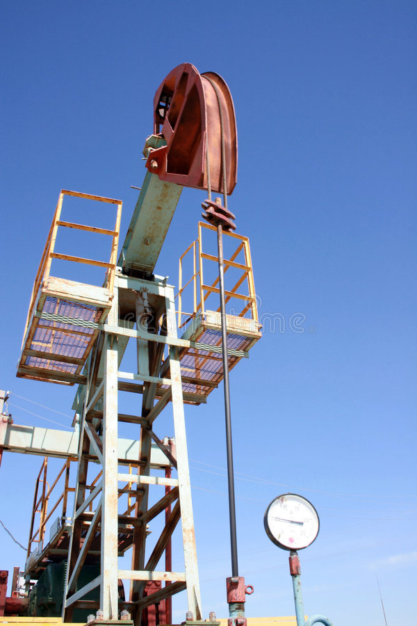 Ölquelle. lizenzfreies stockfoto