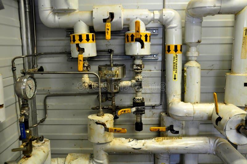 Ölsand-Pumpenteildienste stockbilder