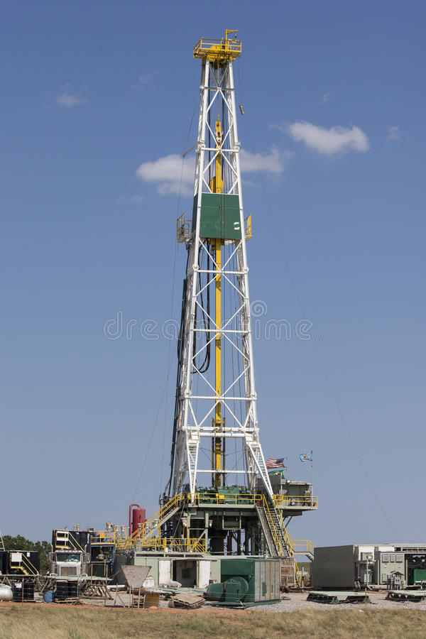 Ölsuche in Oklahoma West lizenzfreies stockbild