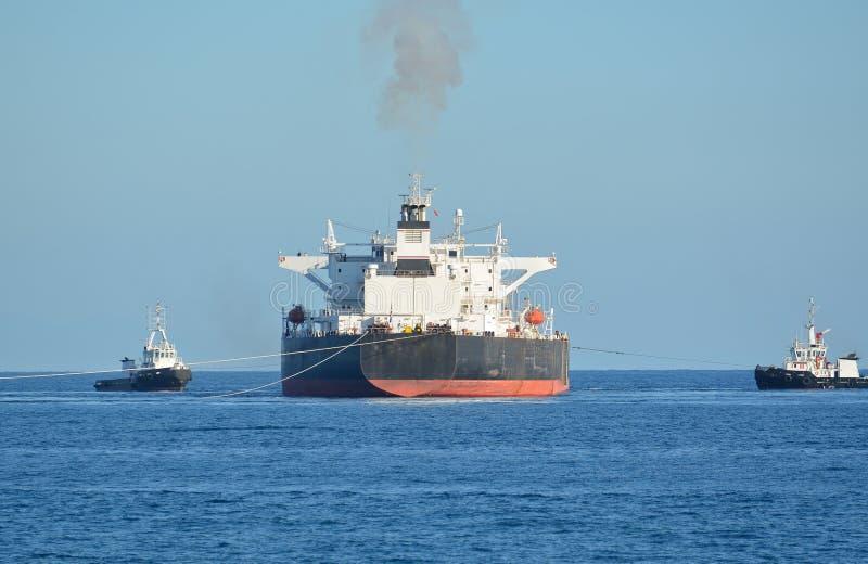 Öltanker stockbilder