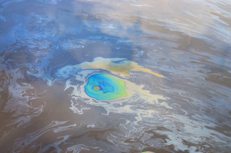 Ölteppich stockbilder