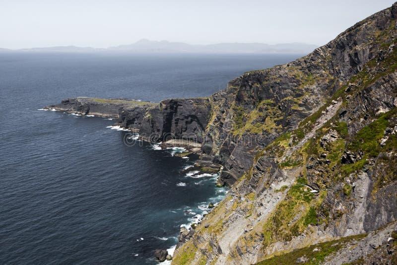 Ön av Valentia i Gaelic Dairbhre som är västra av Irland royaltyfri bild