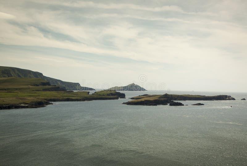 Ön av Valentia som är västra av Irland arkivbilder