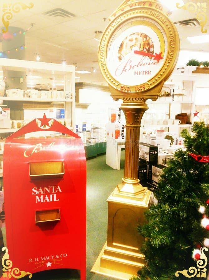 Önska till jultomten arkivbilder