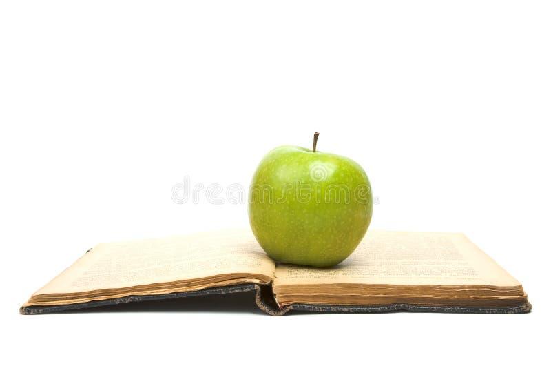 öppen äpplebokgreen arkivfoton