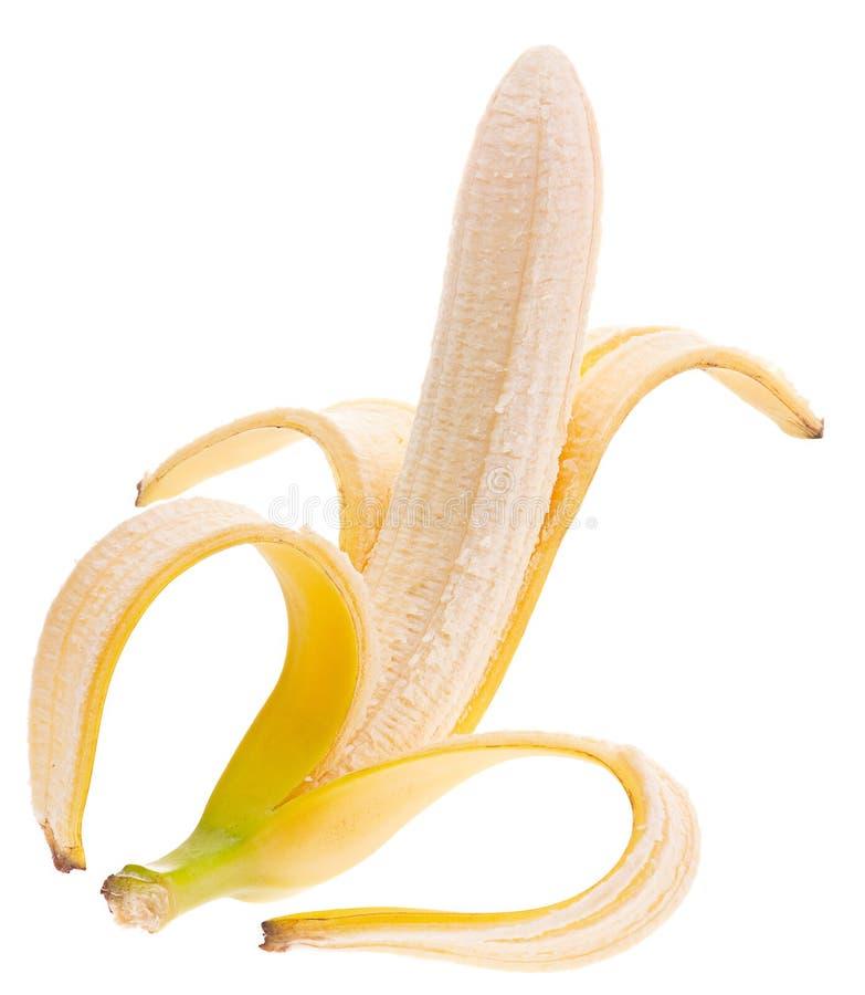 Öppen bananfrukt royaltyfri fotografi