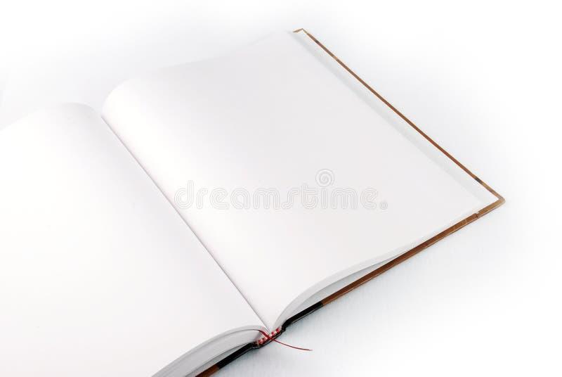 öppen bok royaltyfri foto