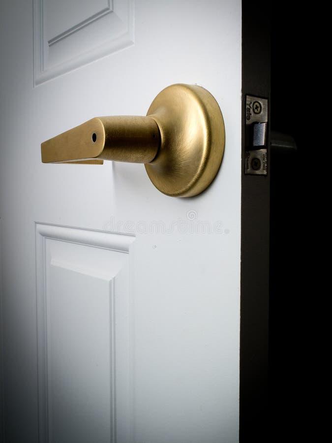 öppen dörr royaltyfria foton