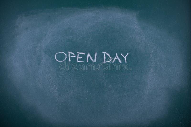 Öppen dag för skola royaltyfri fotografi