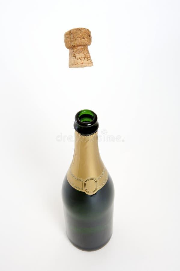 öppen flaska arkivfoton