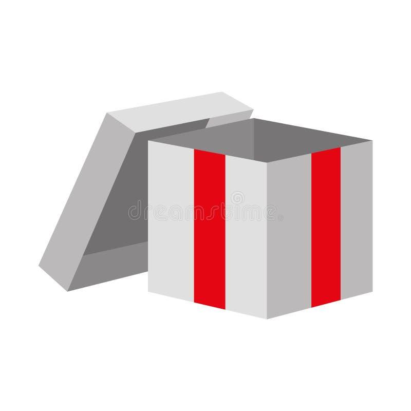 Öppen gåva för gåvaask vektor illustrationer