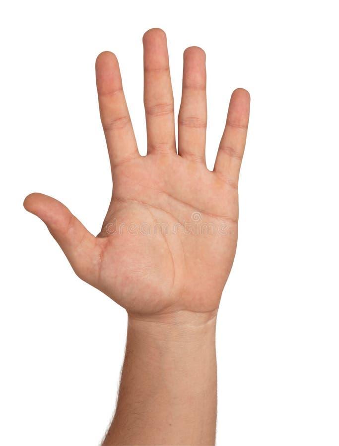 öppen hand