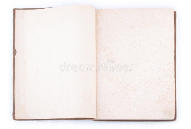 öppen tappning för bok royaltyfri foto