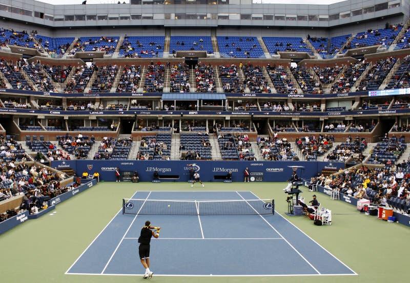 öppen tennis för match oss