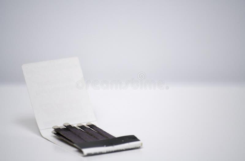 öppet enkelt för matchbook royaltyfri bild