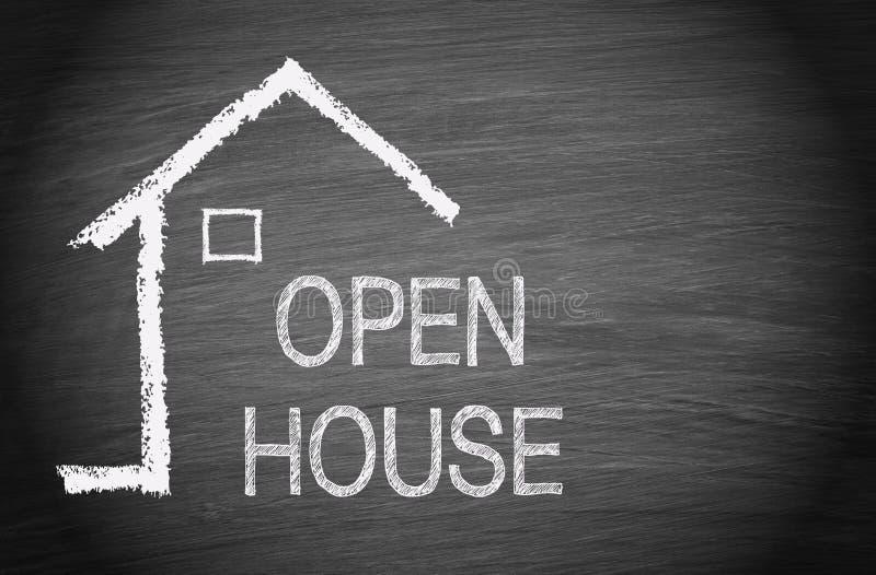 Öppet hus - Real Estate arkivfoto
