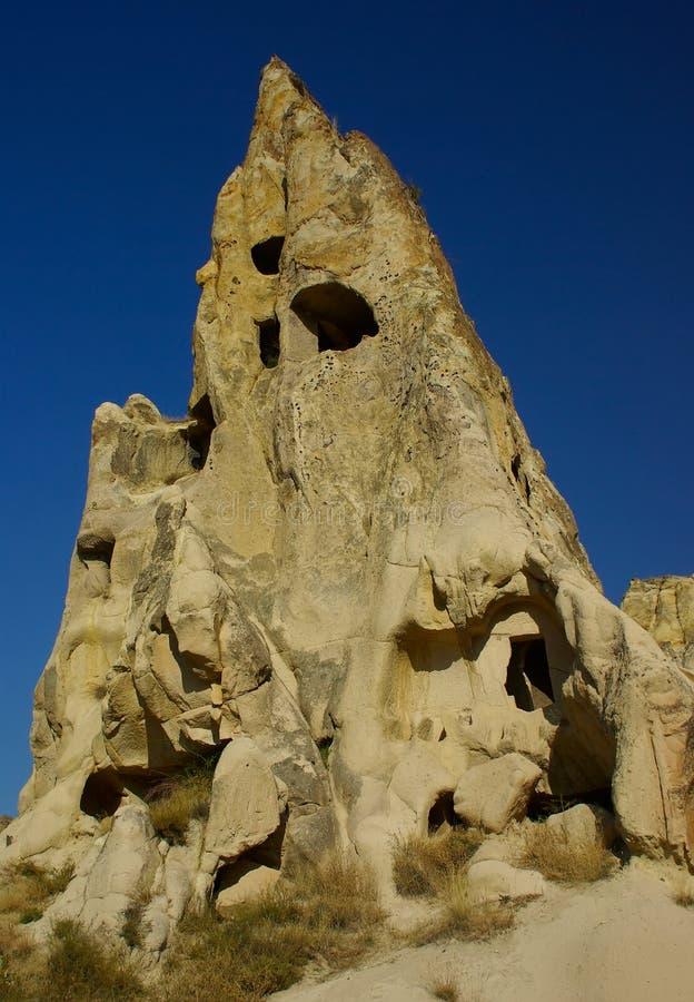 öppet museum för luftcappadociagoreme royaltyfri fotografi
