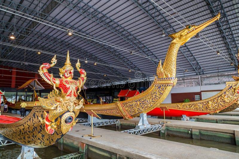 Öppet museum för thailändsk kunglig pråm fotografering för bildbyråer