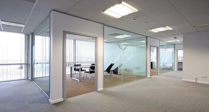 öppet plan för kontor arkivbild