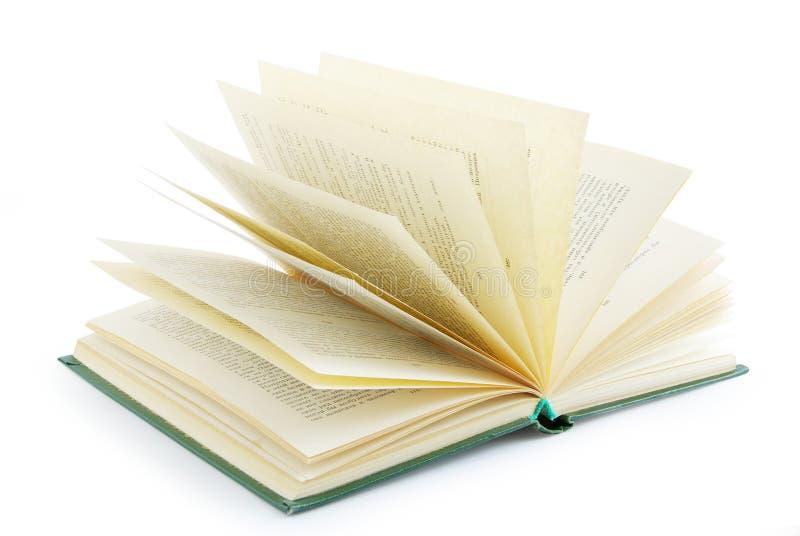 Öppna boken arkivfoton