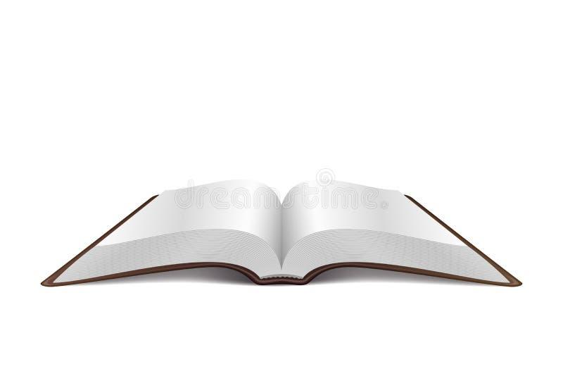 Öppna boken vektor illustrationer