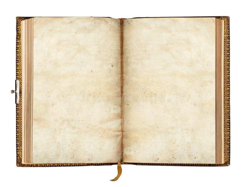 Gammalt boka royaltyfria bilder