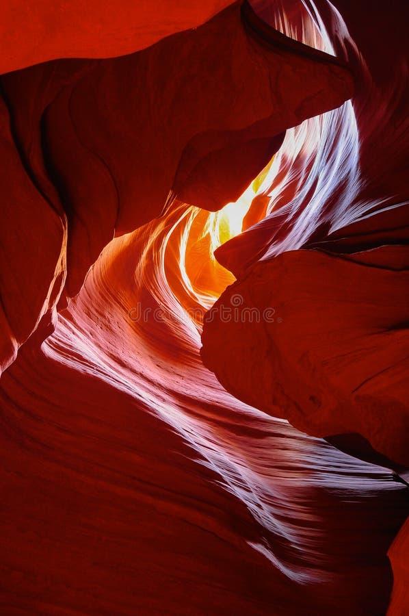 Öppningskanjon i Arizona royaltyfri foto