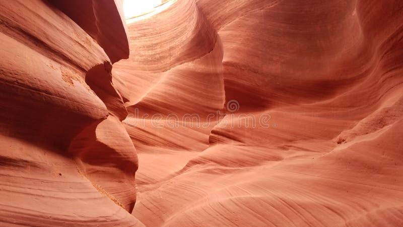 Öppningskanjon i Arizona royaltyfria foton