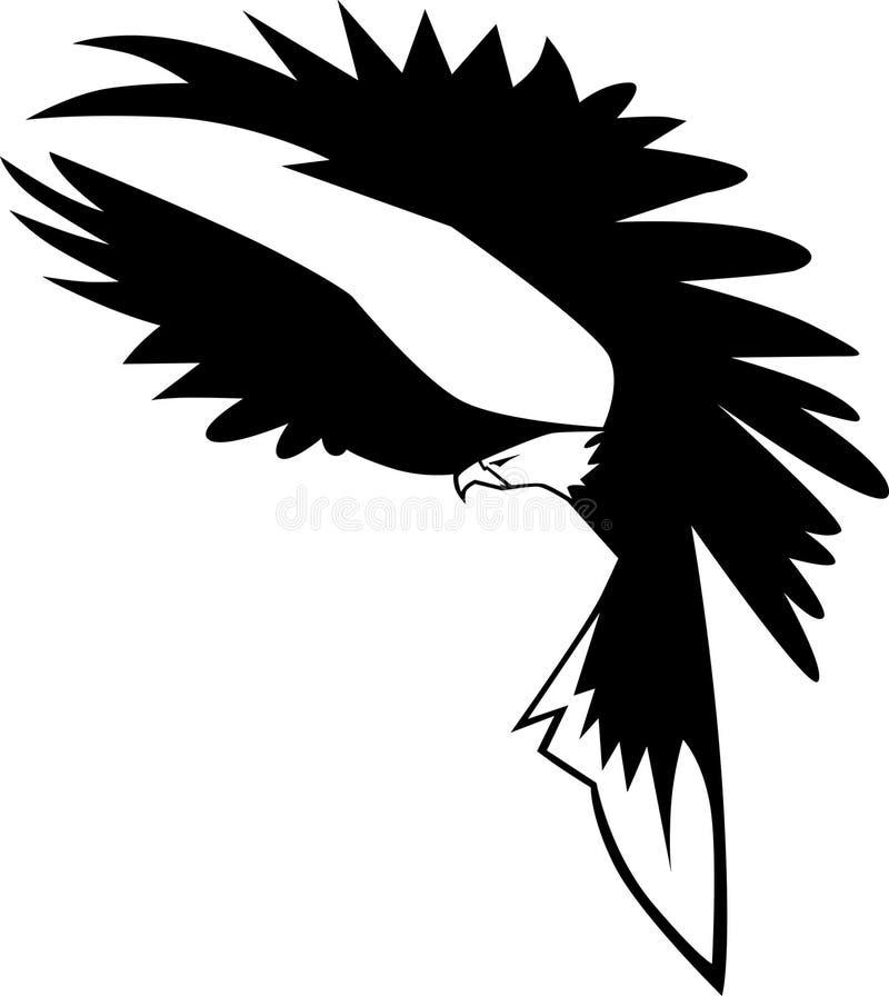 örnflyglogo vektor illustrationer