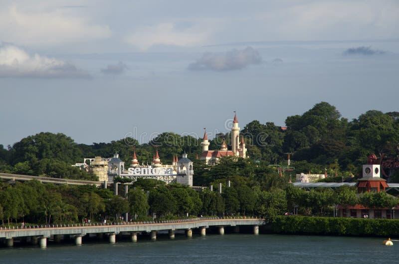 ösentosa singapore royaltyfria bilder