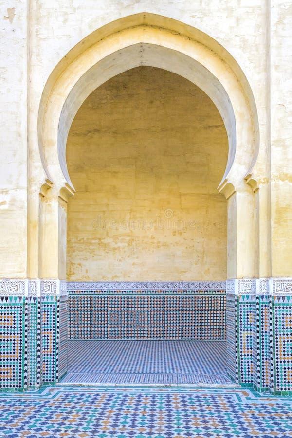 Österlänningbåge, Marocko royaltyfri fotografi