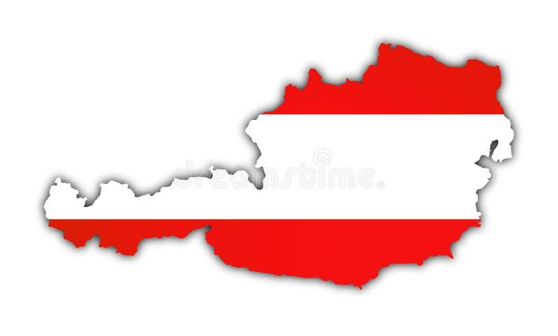 Österreich stock abbildung