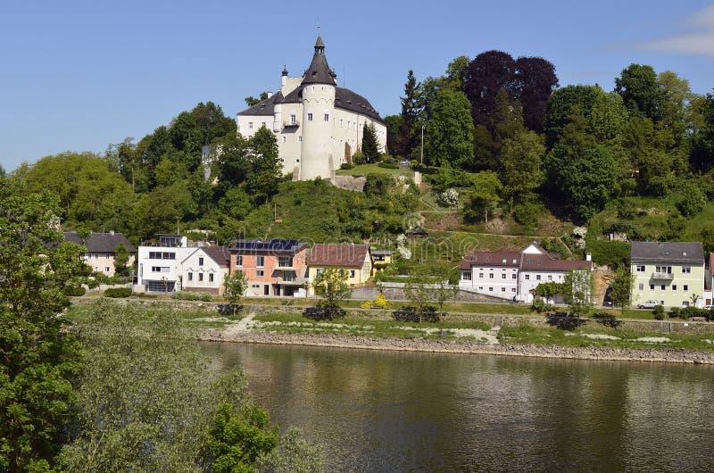 Österreich, Ottensheim-Schloss lizenzfreies stockfoto