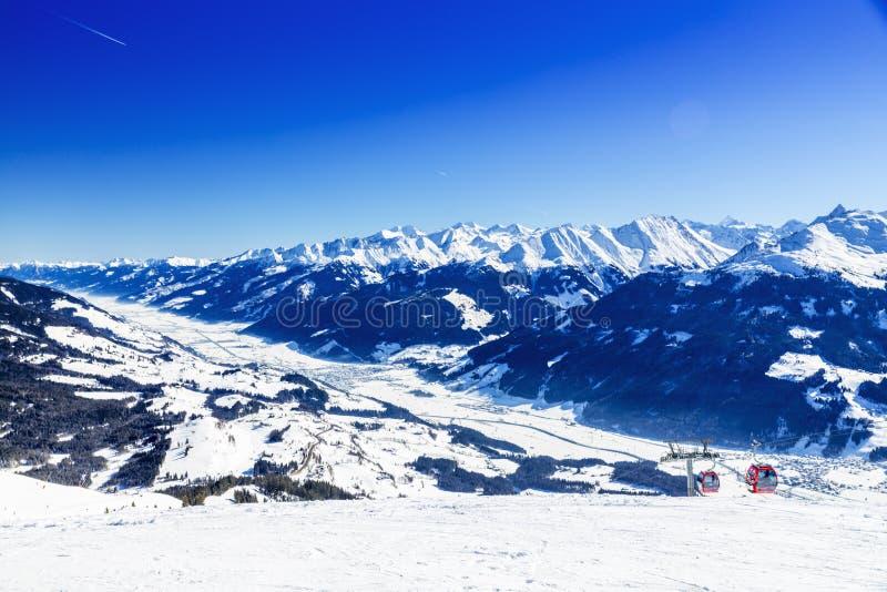Österreichischer Winter lizenzfreie stockfotografie
