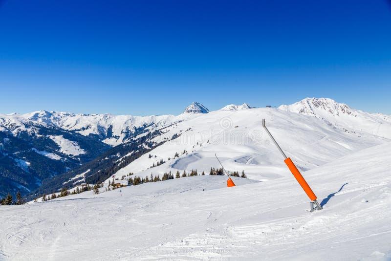 Österreichischer Winter lizenzfreies stockbild